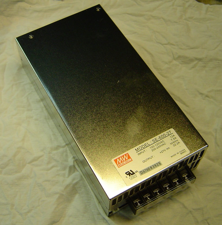 MeanWell 600W 28V DC Power Supply