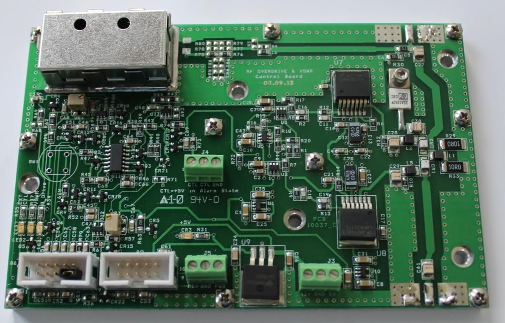 RF Overdrive/VSWR PCB 50 to 400MHz